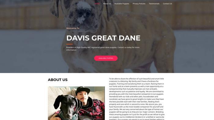Davisgreatedanes.com - Great Dane Puppy Scam Review