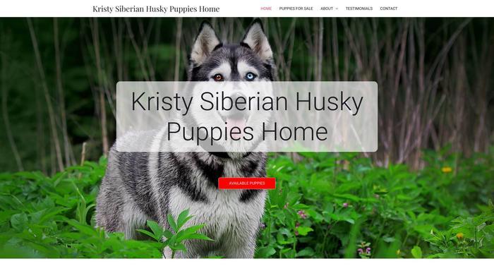 Kristysiberianhuskypuppieshome.com - Husky Puppy Scam Review