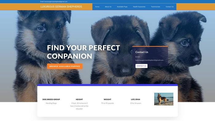 Luxuriousgermanshepherd.com - Germanshepherd Puppy Scam Review