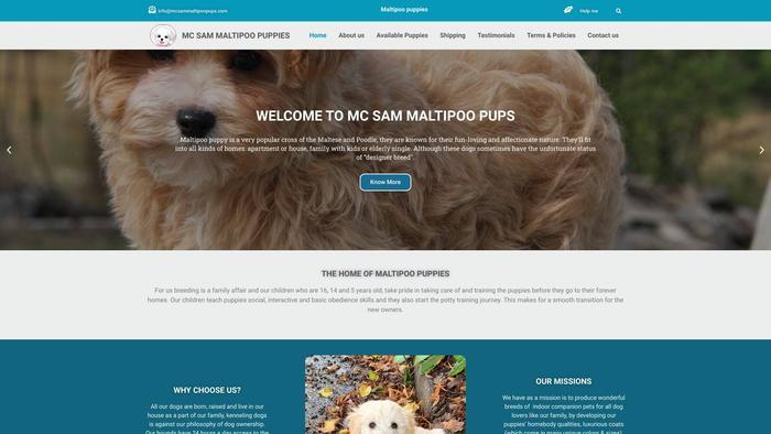 Mcsammaltipoopups.com - Maltipoo Puppy Scam Review