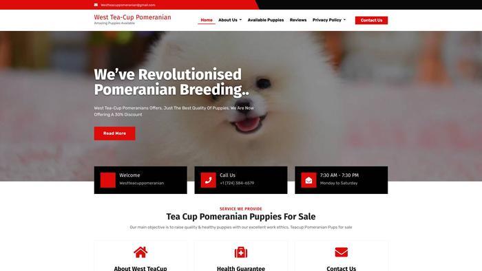 Westteacuppomeranian.com - Pomeranian Puppy Scam Review