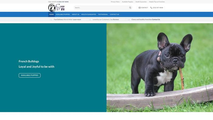 Classyfrenchbullies.com - French Bulldog Puppy Scam Review