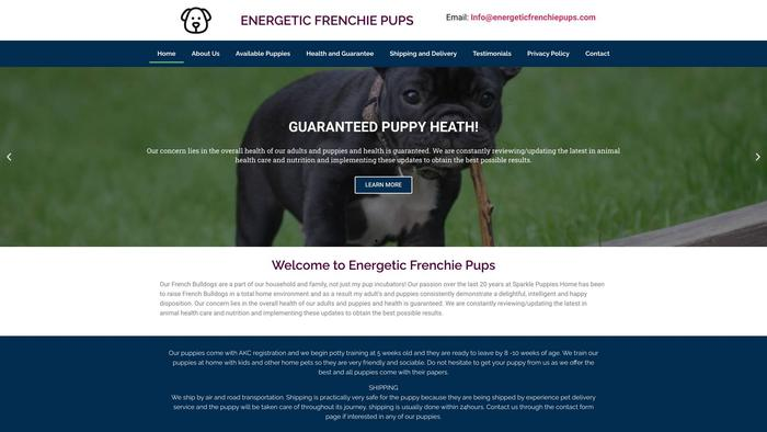 Energeticfrenchiepups.com - French Bulldog Puppy Scam Review