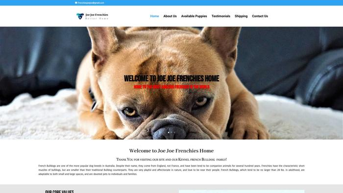 Joejoefrenchieshome.com - French Bulldog Puppy Scam Review