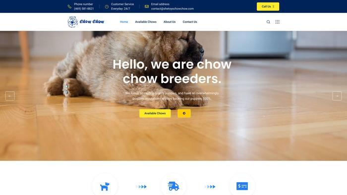 Shetoyschowchow.com - Chowchow Puppy Scam Review