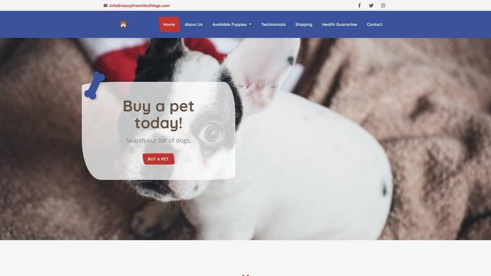 Classyfrenchbulldogs.com - French Bulldog Puppy Scam Review