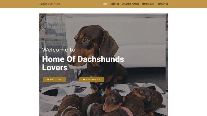 Dachshundlovers.net - Dachshund Puppy Scam Review
