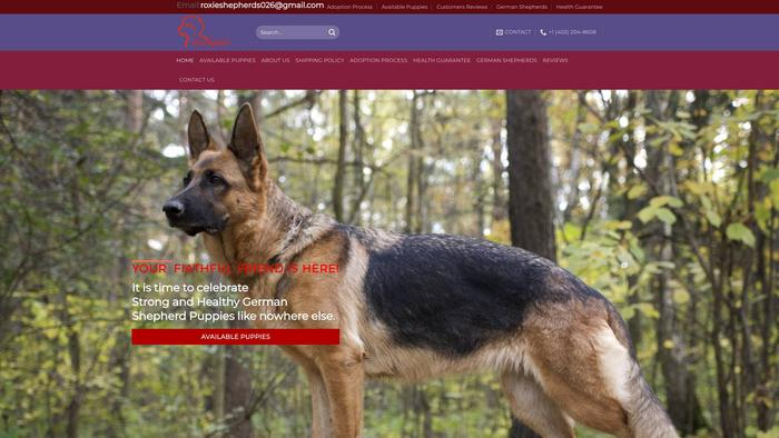 Roxieshepherds.com - Germanshepherd Puppy Scam Review