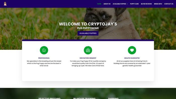 Cryptojayspugpuppyhome.com - Pug Puppy Scam Review