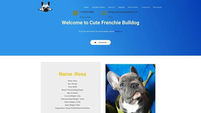Cutefrenchiebulldog.com - French Bulldog Puppy Scam Review