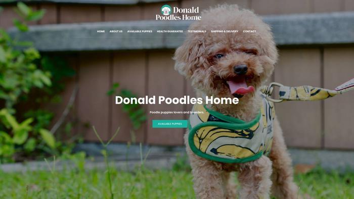 Donaldpoodleshome.com - Poodle Puppy Scam Review