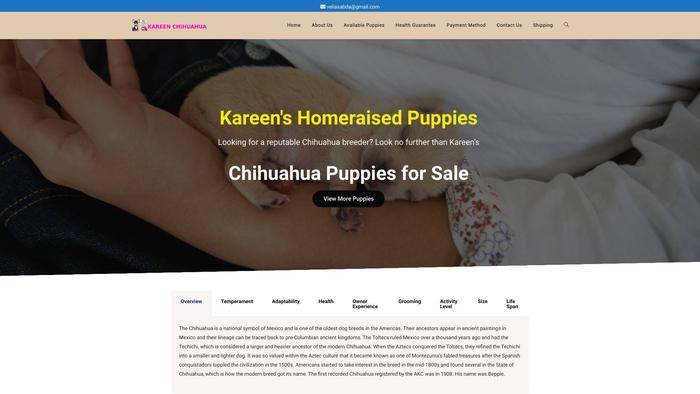 Kareenchihuahua.com - Chihuahua Puppy Scam Review