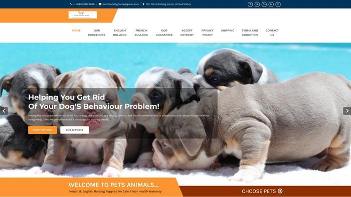 Nikizbulldoghome.store - English Bulldog Puppy Scam Review