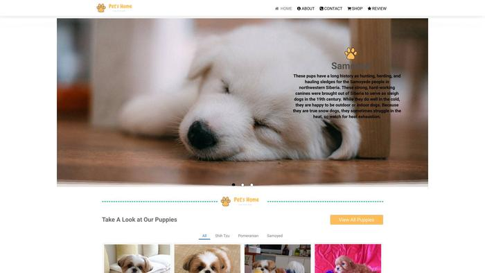 Pets-home.store - Pomeranian Puppy Scam Review