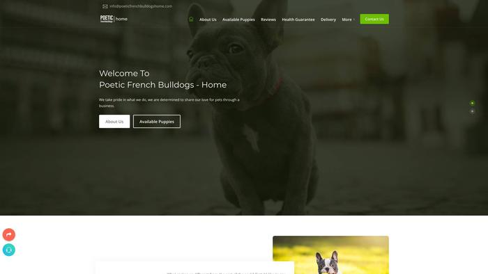 Poeticfrenchbulldogshome.com - French Bulldog Puppy Scam Review