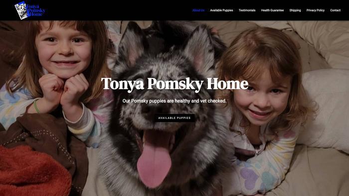 Tonyapomskyhome.com - Pomeranian Puppy Scam Review