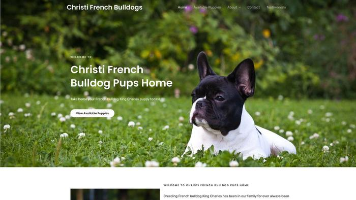 Christifrenchbulldogpupshome.com - French Bulldog Puppy Scam Review