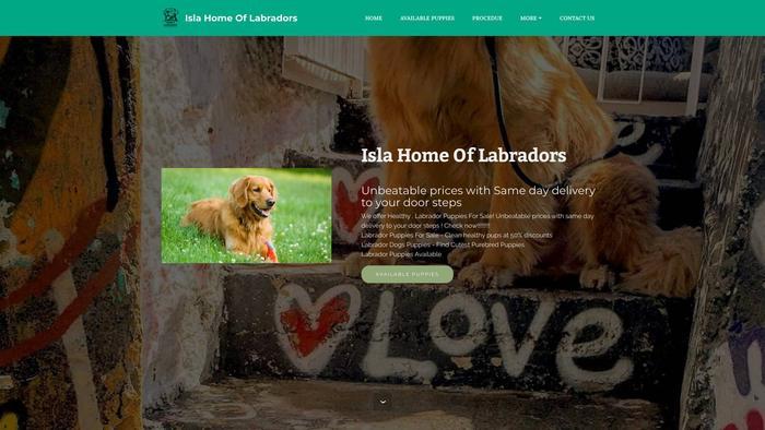 Islahomelabradors.com - Labrador Puppy Scam Review
