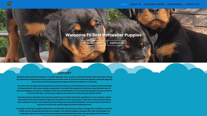 Johnsonrottweilerpuppiesforsale.com - Rottweiler Puppy Scam Review
