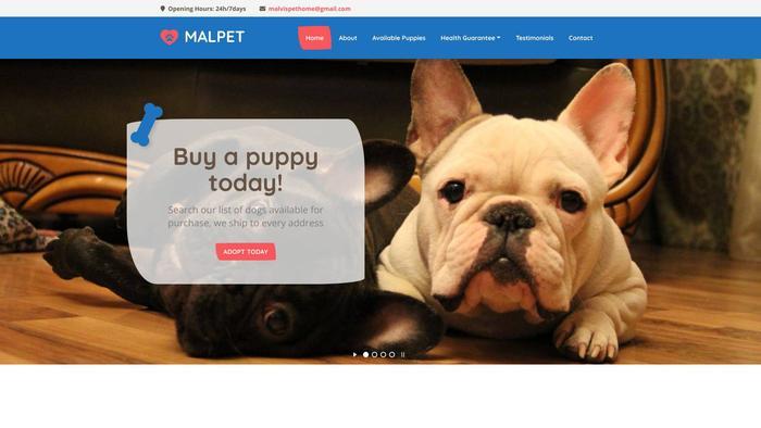 Malvispethome.com - French Bulldog Puppy Scam Review