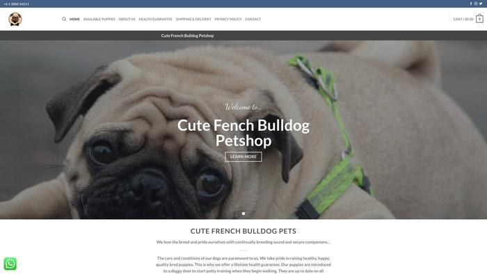 Cutefrenchbulldogspetshop.com - French Bulldog Puppy Scam Review