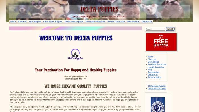 Deltapuppies.com - Dachshund Puppy Scam Review