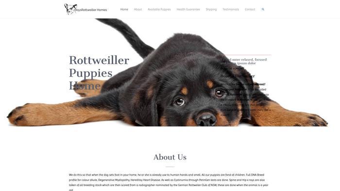 Roysrottweilerhomes.com - Rottweiler Puppy Scam Review