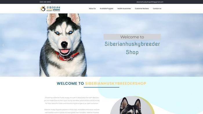 Siberianhuskybreedershop.com - Husky Puppy Scam Review