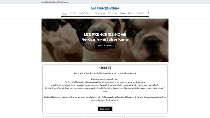 Leefrenchieshome.com - French Bulldog Puppy Scam Review