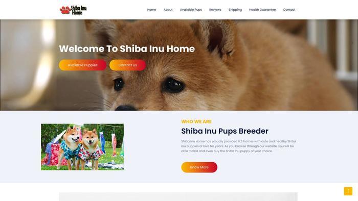 Shibainushomes.com - Shibhainu Puppy Scam Review