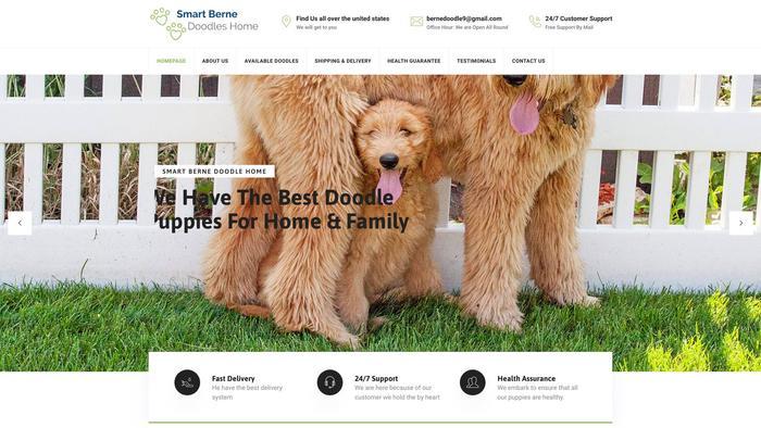 Smartbernedoodleshome.com - Bernedoodle Puppy Scam Review