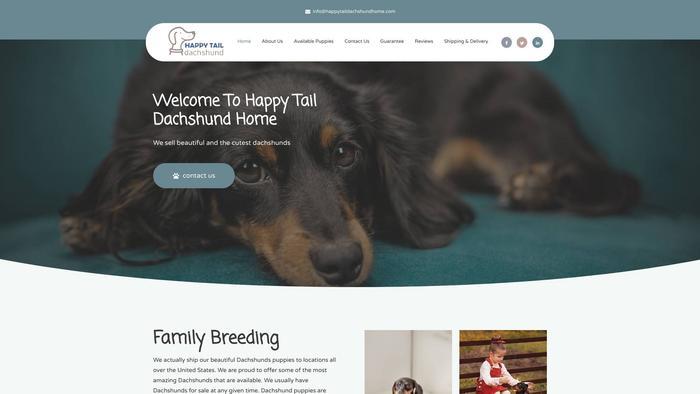 Happytaildachshundhome.com - Dachshund Puppy Scam Review