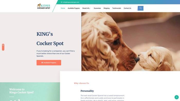 Kingscockerspot.com - Cockerspaniel Puppy Scam Review