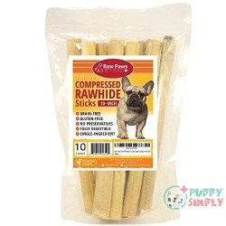 Raw Paws 10-inch Compressed Rawhide