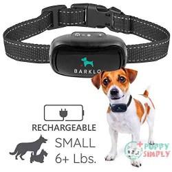 Barklo Small Dog Barking Collar