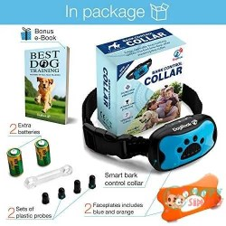 DogRook Dog Bark Collar- Humane Anti Barking Training Collar 1