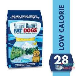 Natural Balance Fat Dogs Chicken & Salmon Formula Low-Calorie Dry Food