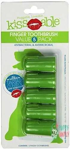 KissAble Finger Brush for Dogs