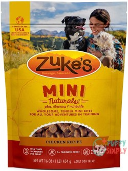 Zuke's Naturals Training and NEW!