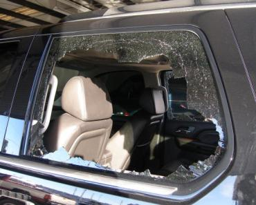 London Police Smash Windows of a Car to Save a Dog in Heat