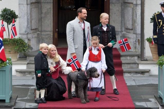 Norwegian Royals Celebrate Norway's National Day
