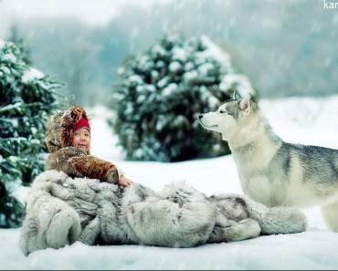 Child and dog 5