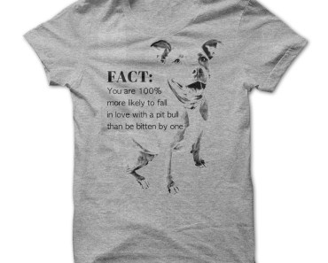 The Best Pit Bull T-Shirt We've Ever Seen