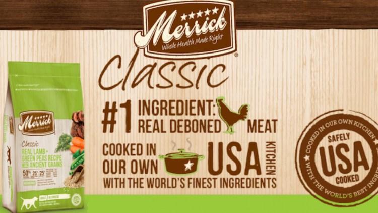 Merrick Dog Food