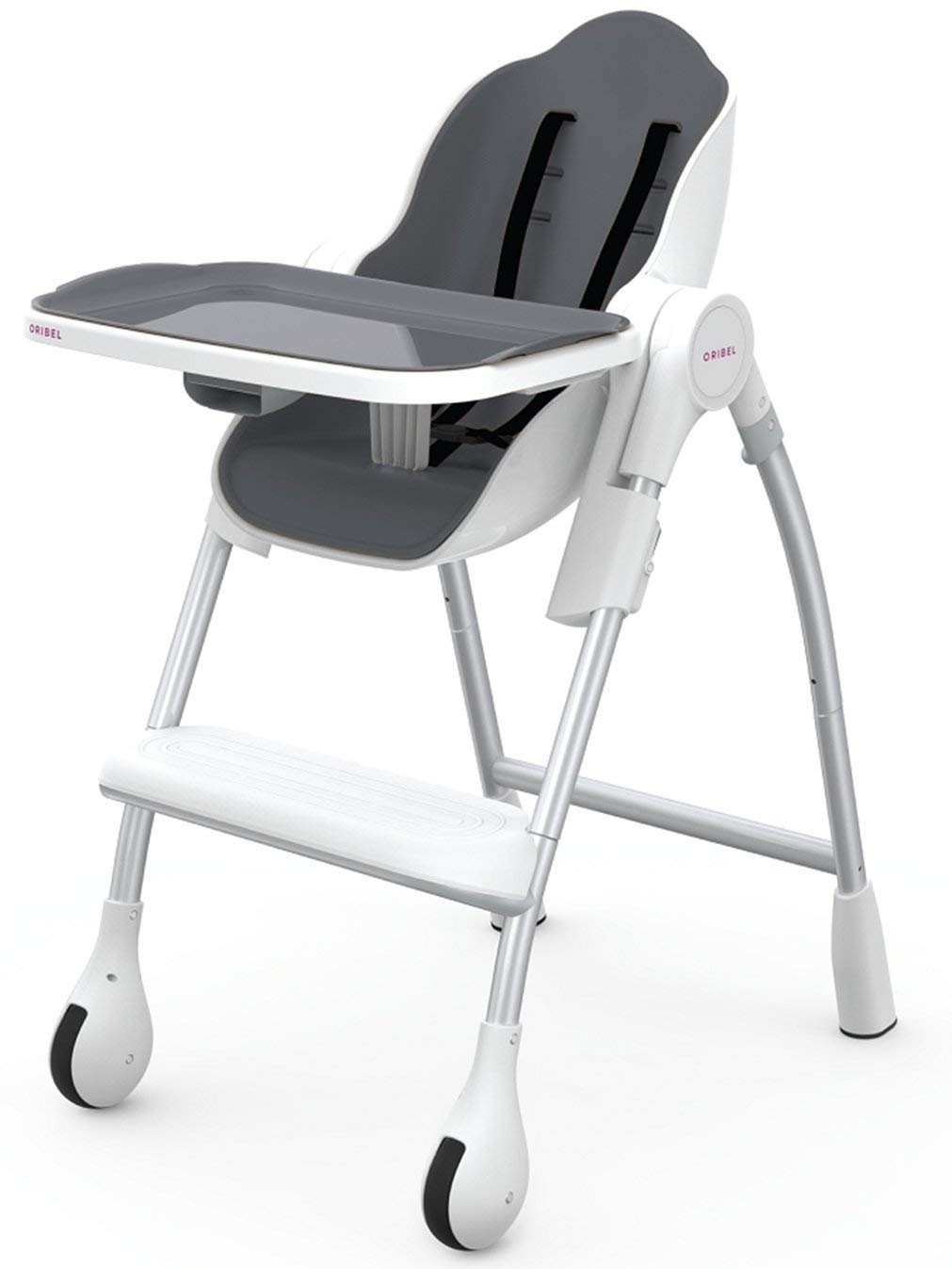 Chair High Chair Oribel Cocoon The Complete High Chair Slate