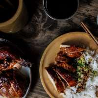 Oven Roasted Five Spice Peking Chicken