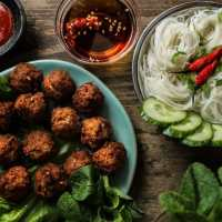Lemongrass Meatballs (Larb Style) - 3 Ways