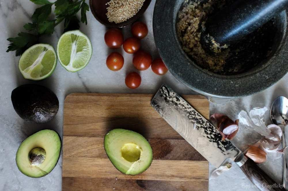 Toasted Sesame Guacamole