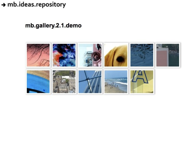 jquery.mb.gallery with thumbnails