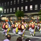 岩手|盛岡さんさ踊りパレード(太鼓隊・清流)の写真